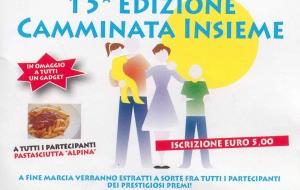 15^ Edizione CAMMINATA INSIEME
