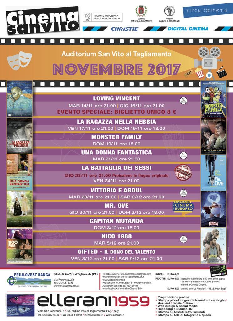 Cinema San Vito - Novembre 2017