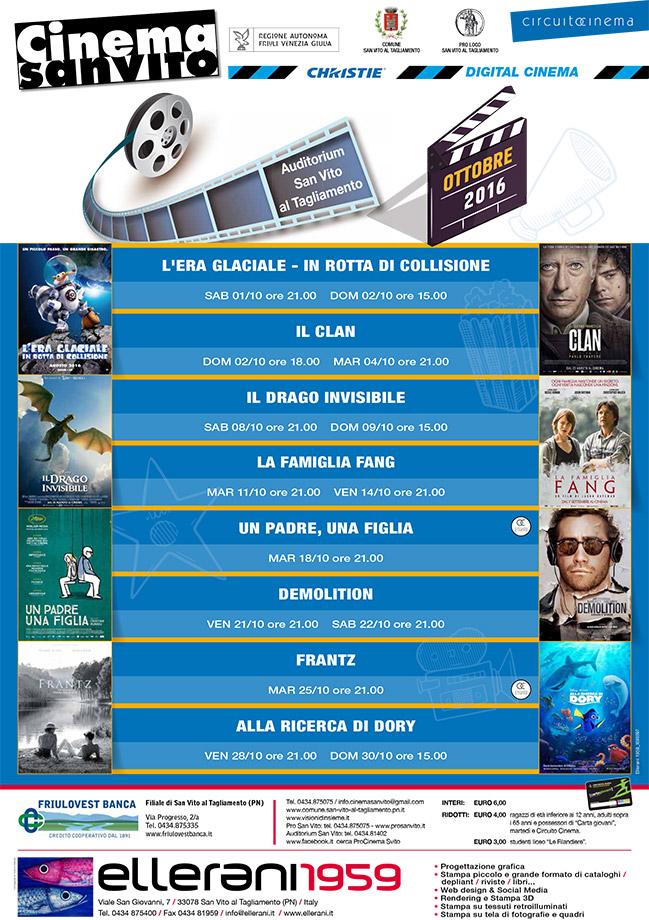 Cinema San Vito - Ottobre 2016
