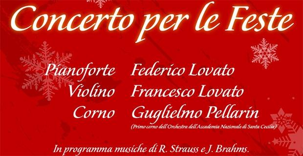 27/12  – Concerto per le feste