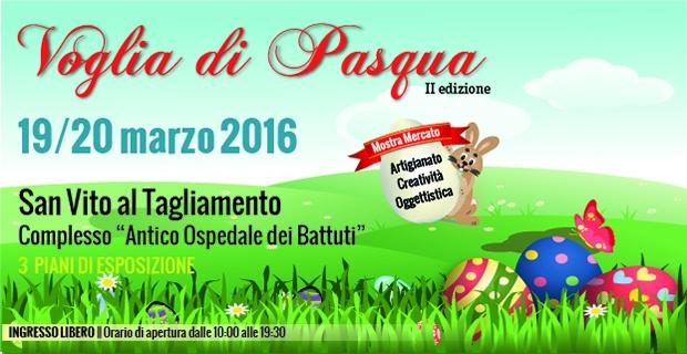 Voglia di Pasqua – 19 e 20 marzo