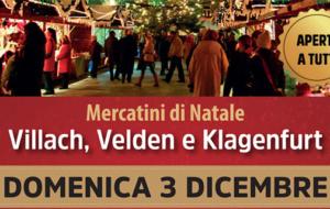 Gita ai mercatini di Villach, Velden e Klagenfurt