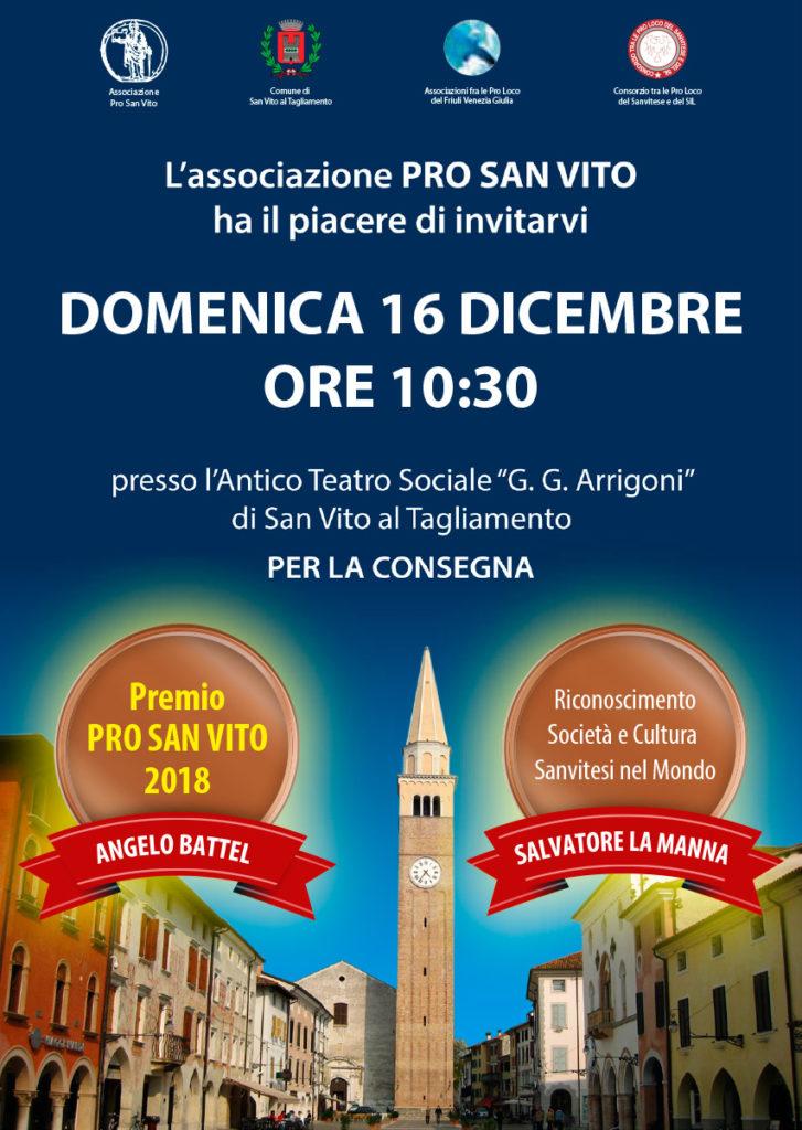 Premio Pro San Vito 2018