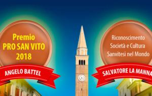 Premio Pro San Vito e Sanvitesi nel mondo