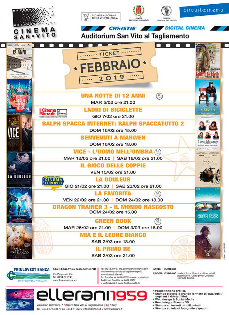 Cinema San Vito - Febbraio 2019
