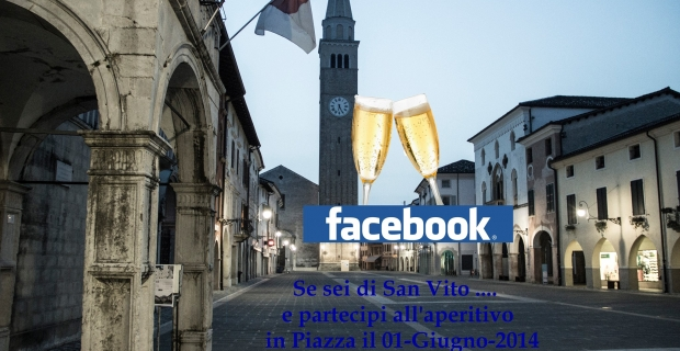 """1^ Aperitivo """"Sei di San Vito se…"""" in Piazza"""