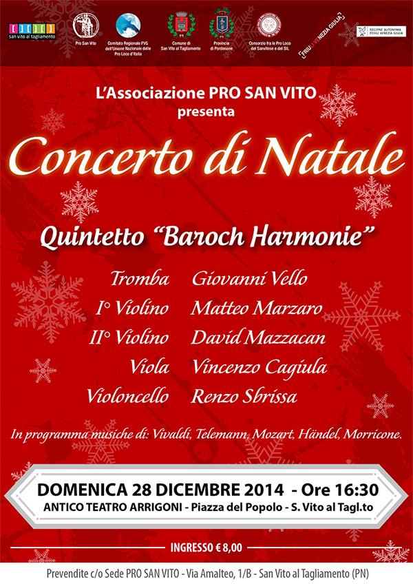 Concerto di Natale 2014 - San Vito al Tagliamento