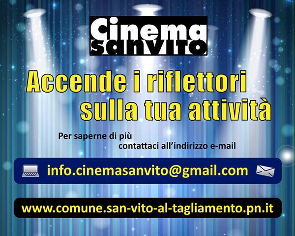 Pubblicità Cinema San Vito