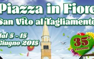 Piazza in fiore 2015…tante le novità!!