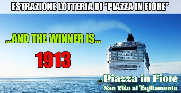 Estrazione lotteria di Piazza in Fiore