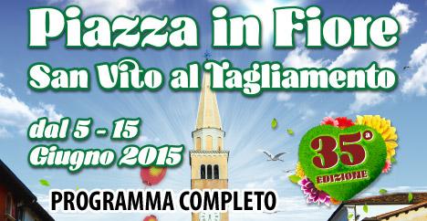 Programma Piazza in Fiore 2015