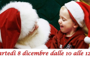 Babbo Natale e gli Elfi per i bambini