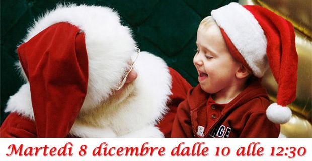 Babbo Natale con i bambini