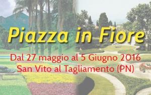Piazza in Fiore – Dal 27/05 al 05/06