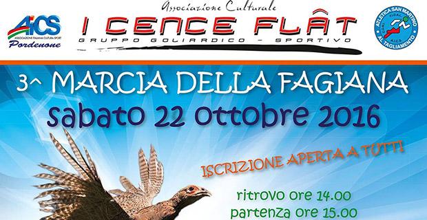 3^ edizione Marcia della Fagiana