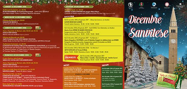 Dicembre Sanvitese - Copertina