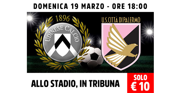 Udinese - Palermo Proloco FVG