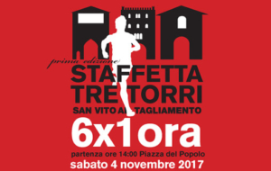STAFFETTA TRE TORRI – 6×1 ora
