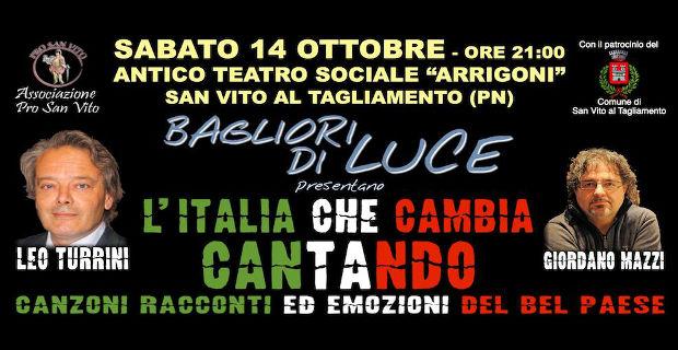 L'italia che cambia cantando