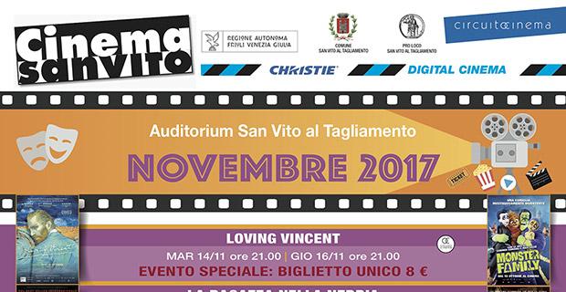 Cinema San Vito – Novembre 2017
