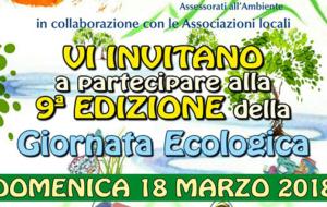 9^ edizione Giornata Ecologica