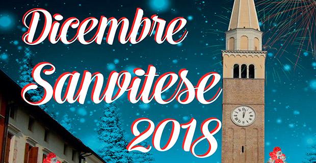 Dicembre Sanvitese 2018 – Programma completo