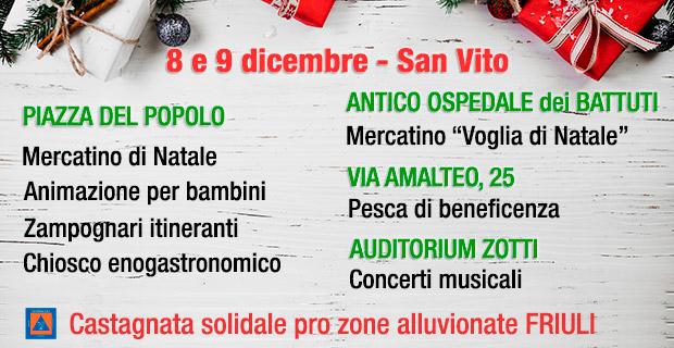 Primo weekend di Natale a San Vito