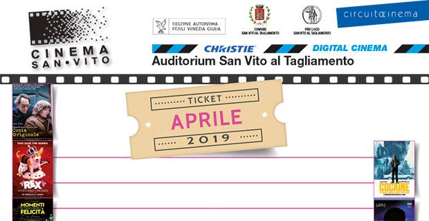 Cinema San Vito – Aprile 2019