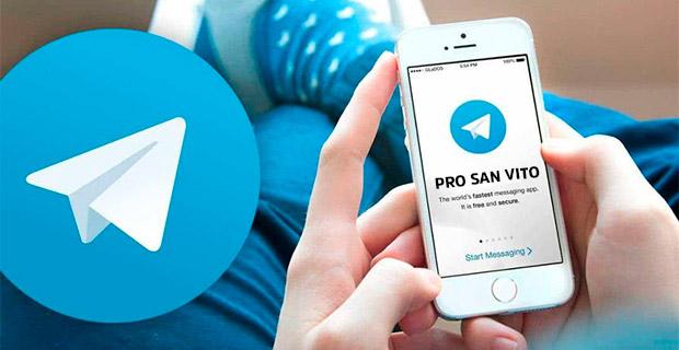 Pro San Vito su Telegram