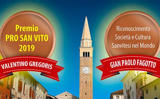 Premio Pro San Vito 2019