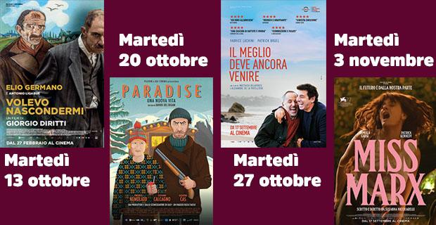 Film cinema San Vito - Ottobre 2020